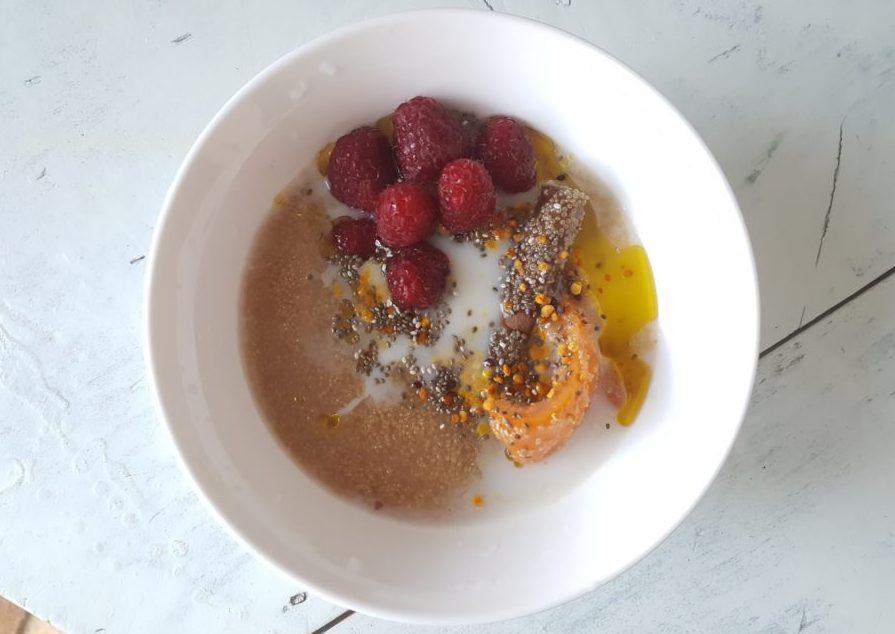 gachas de quinoa para tus recetas terapéuticas